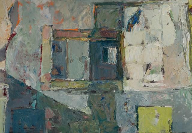 Obraz do salonu artysty Wojciech Plust pod tytułem W starym domu
