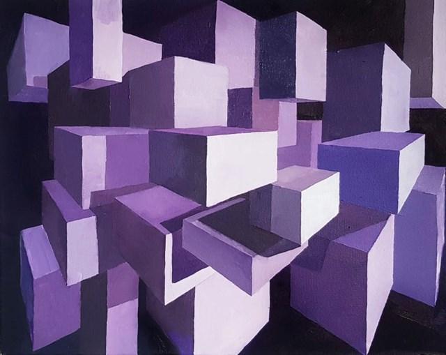 Obraz do salonu artysty Zofia Wawrzynowicz pod tytułem Illusion