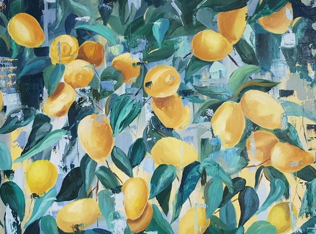 Obraz do salonu artysty Zofia Wawrzynowicz pod tytułem Happiness