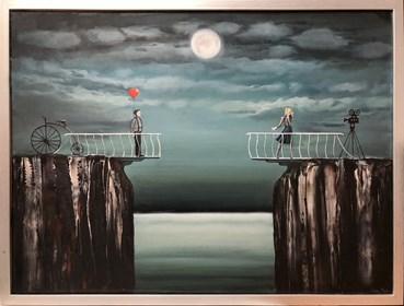 Obraz do salonu artysty Sabina Maria Grzyb pod tytułem Wyznanie Mima