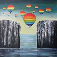 Obraz do salonu artysty Sabina Maria Grzyb pod tytułem Nalot z zachodu - Inwazja tolerancji