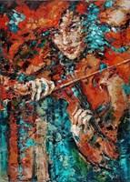 Obraz do salonu artysty Krystyna Róż-Pasek pod tytułem Kuratela