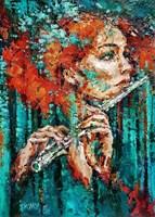Obraz do salonu artysty Krystyna Róż-Pasek pod tytułem Rozczulenie