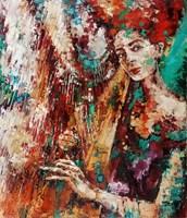 Obraz do salonu artysty Krystyna Róż-Pasek pod tytułem Chluba