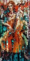 Obraz do salonu artysty Krystyna Róż-Pasek pod tytułem Admiracja