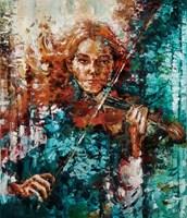 Obraz do salonu artysty Krystyna Róż-Pasek pod tytułem Kobieca chwila
