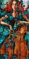 Obraz do salonu artysty Krystyna Róż-Pasek pod tytułem Wewnątrz
