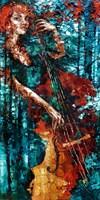Obraz do salonu artysty Krystyna Róż-Pasek pod tytułem Zauroczenie chwilą