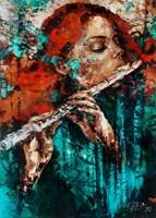 Obraz do salonu artysty Krystyna Róż-Pasek pod tytułem Zwiastun