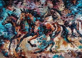 Obraz do salonu artysty Krystyna Róż-Pasek pod tytułem Intuicja