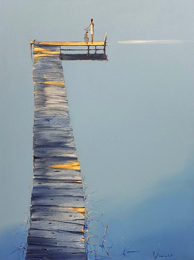 Obraz do salonu artysty Aleksander Yasin pod tytułem Pomost uczuć
