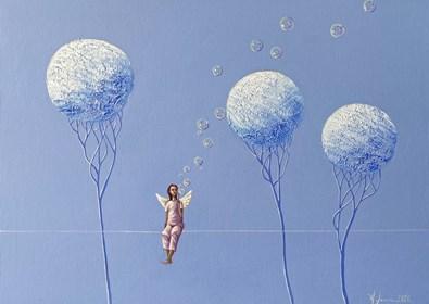 Obraz do salonu artysty Aleksander Yasin pod tytułem Linia życia I