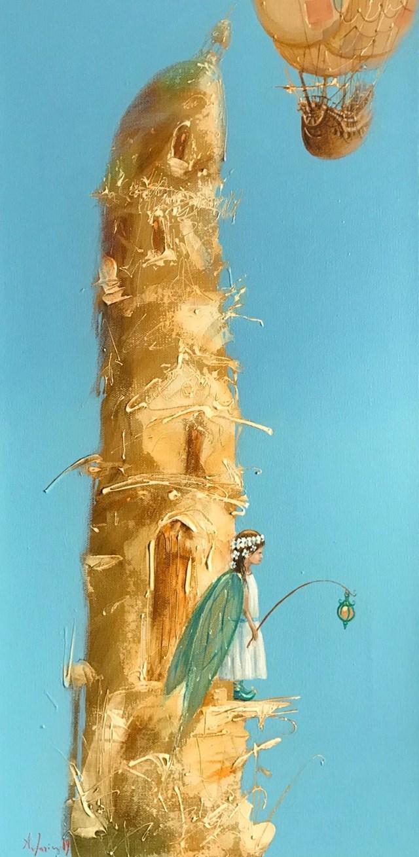Obraz do salonu artysty Aleksander Yasin pod tytułem Strażniczka