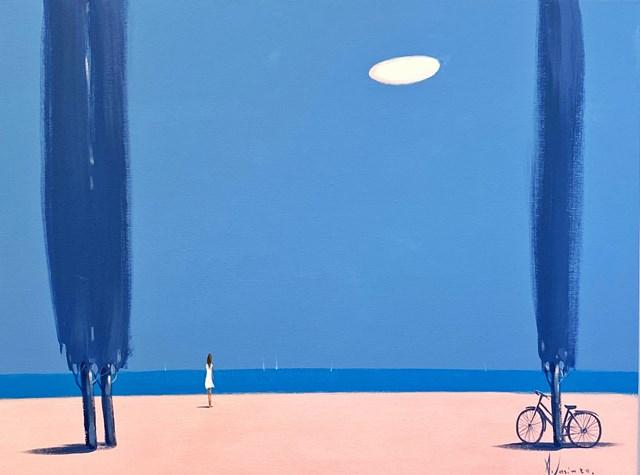 Obraz do salonu artysty Aleksander Yasin pod tytułem Ostrowy błękitu