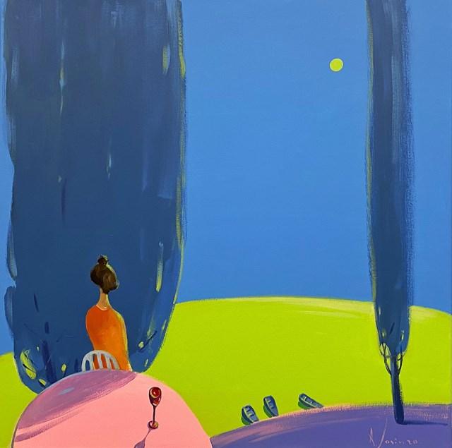 Obraz do salonu artysty Aleksander Yasin pod tytułem Płynność czasu