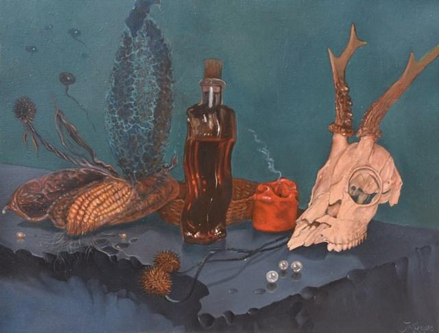 Obraz do salonu artysty Jacek Krupa pod tytułem Martwa natura
