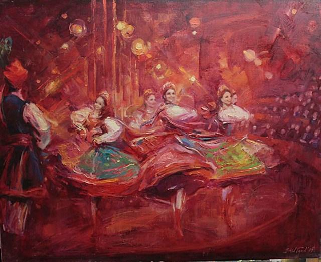 Obraz do salonu artysty BEATA TOPOLIŃSKA pod tytułem Bez tytułu 21