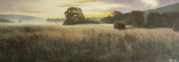 Obraz do salonu artysty Konrad Hamada pod tytułem Wschód słońca