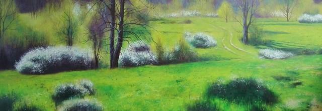 Obraz do salonu artysty Konrad Hamada pod tytułem Wiosna