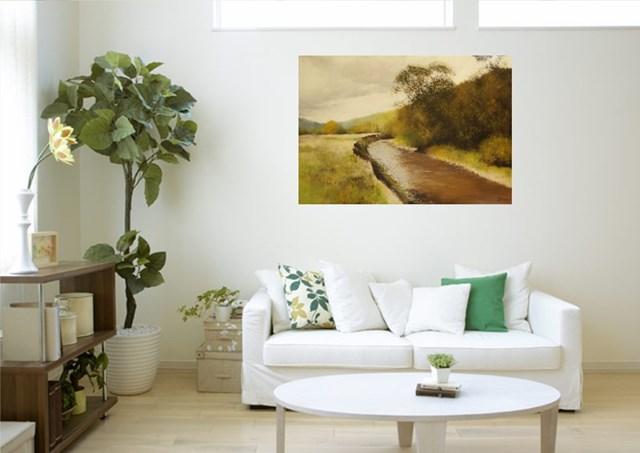 Rzeka - wizualizacja pracy autora Konrad Hamada