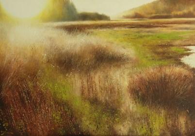 Obraz do salonu artysty Konrad Hamada pod tytułem Łąka