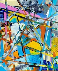 Obraz do salonu artysty Magdalena Karwowska pod tytułem Miasto 05