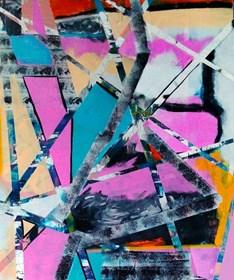 Obraz do salonu artysty Magdalena Karwowska pod tytułem Miasto 055