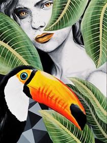 Obraz do salonu artysty Zuzanna Jankowska pod tytułem Dzikuska
