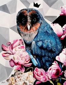 Obraz do salonu artysty Zuzanna Jankowska pod tytułem Nocna księżna