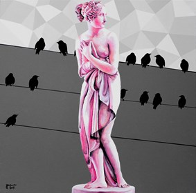 Obraz do salonu artysty Zuzanna Jankowska pod tytułem Pod publiczkę