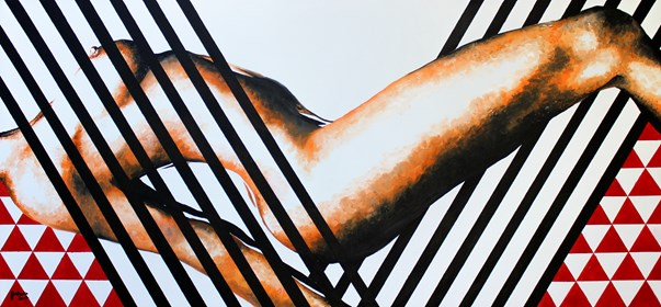 Obraz do salonu artysty Zuzanna Jankowska pod tytułem Spazmy