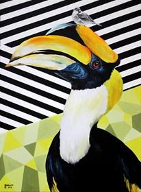 Obraz do salonu artysty Zuzanna Jankowska pod tytułem Skromność ponad pychę
