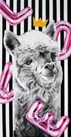 Obraz do salonu artysty Zuzanna Jankowska pod tytułem Po prostu alpaka