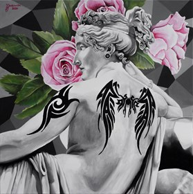 Obraz do salonu artysty Zuzanna Jankowska pod tytułem Modern girl