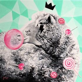 Obraz do salonu artysty Zuzanna Jankowska pod tytułem Słodki rock and roll