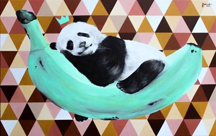 Obraz do salonu artysty Zuzanna Jankowska pod tytułem Poczuj miętę