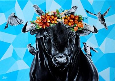 Obraz do salonu artysty Zuzanna Jankowska pod tytułem Wołos