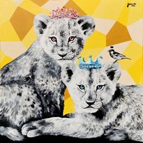Obraz do salonu artysty Zuzanna Jankowska pod tytułem Korony królów