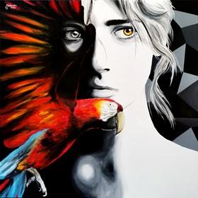 Obraz do salonu artysty Zuzanna Jankowska pod tytułem Ta druga