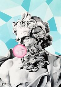 Obraz do salonu artysty Zuzanna Jankowska pod tytułem Bubble gum