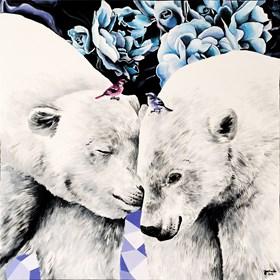 Obraz do salonu artysty Zuzanna Jankowska pod tytułem Bratnie dusze