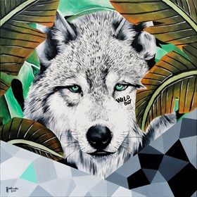 Obraz do salonu artysty Zuzanna Jankowska pod tytułem Wild boy