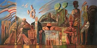 Obraz do salonu artysty Andrzej Wroński pod tytułem Cywilizacja