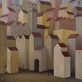 Obraz do salonu artysty Malwina de Brade pod tytułem Samotność
