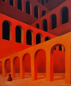 Obraz do salonu artysty Malwina de Brade pod tytułem Echo