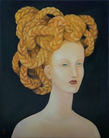Obraz do salonu artysty Malwina de Brade pod tytułem Meduza