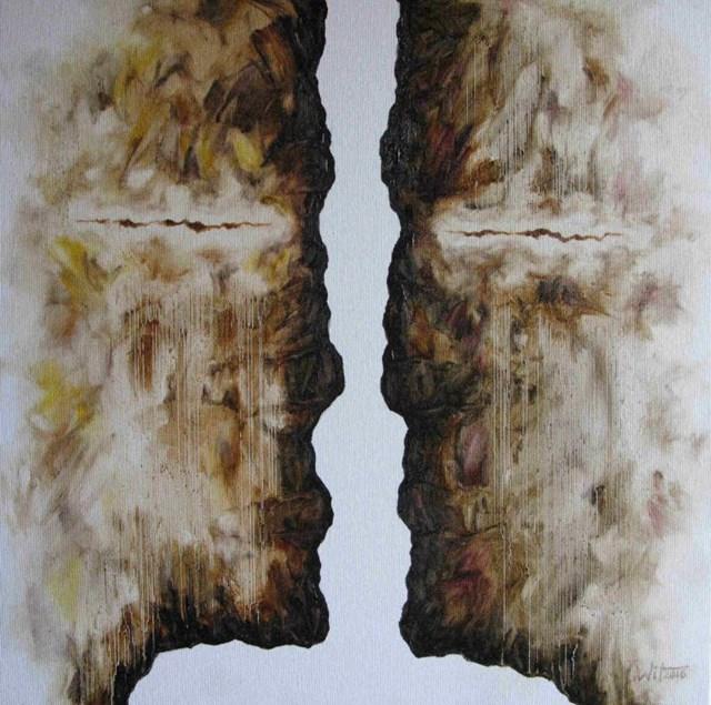Obraz do salonu artysty Wit Bogusławski pod tytułem Waiting for an answer