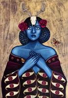Obraz do salonu artysty Małgorzata Rukszan pod tytułem Vision quest
