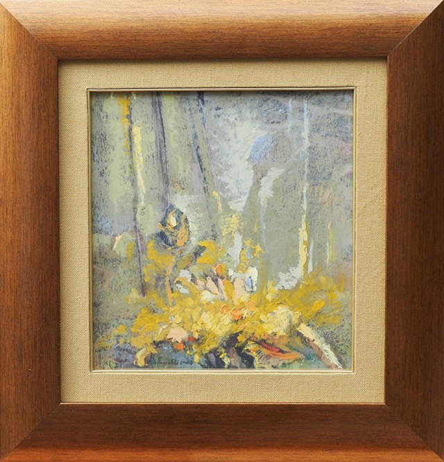 Obraz do salonu artysty Wacław Jagielski pod tytułem Las