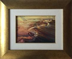 Obraz do salonu artysty Wacław Jagielski pod tytułem Zapomniane przez Ikara...